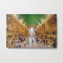 Grand Central Daylight Metal Print