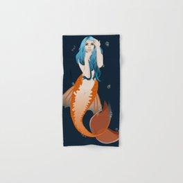 Deep Reef Mermaid Hand & Bath Towel