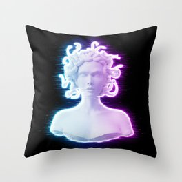 Medusa IV Throw Pillow