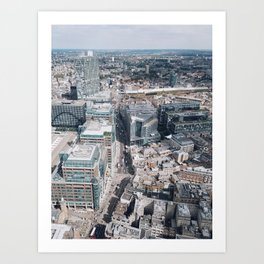 London from Above Art Print