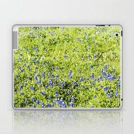 Texas Bluebonnet Field Laptop & iPad Skin
