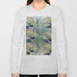 Aquarium pattern Long Sleeve T-shirt