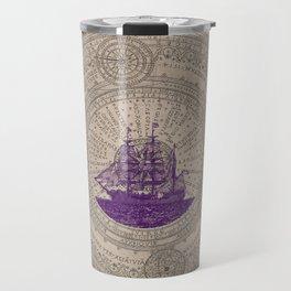 Purple Schooner Travel Mug