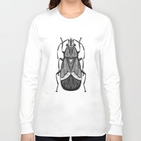bug Long Sleeve T-shirts featuring Bug by pereverzeva