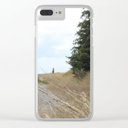 Overcome Your Fears Clear iPhone Case