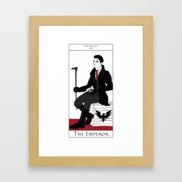 Kaz Brekker - The Emperor Framed Art Print