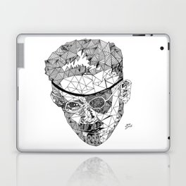 James Joyce - Hand-drawn Geometric Art Print Laptop & iPad Skin