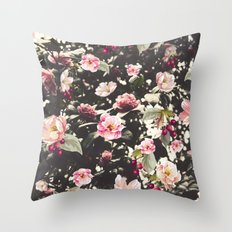 Beat Around The Rosebush Throw Pillow