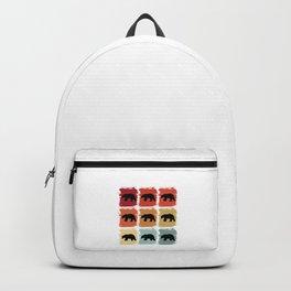 Retro Pop Art Polar Bear Animal Gift Idea Backpack