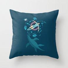 Cryptosoaking Throw Pillow