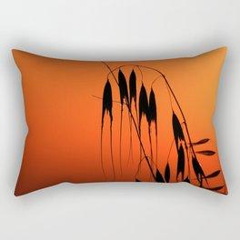 Plants At Dusk 2 Rectangular Pillow