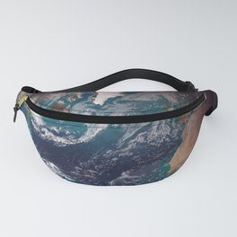 The Blue Marble - Western Hemisphere - Earth From Space Fanny Pack