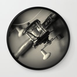 Going Fishing Wall Clock