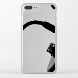 Plugged In Amplifier Clear iPhone Case
