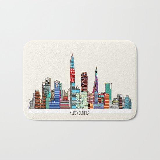 Cleveland city  Bath Mat