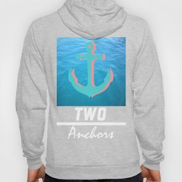 Into the Blue White Hoody