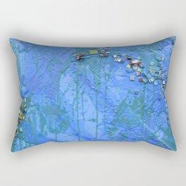 Layered Texture Rectangular Pillow