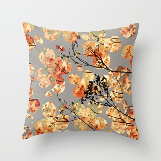 Dogwood Quilt Throw Pillow