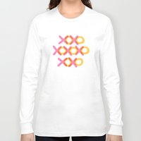 xoxo Long Sleeve T-shirts featuring XOXO by ghennah