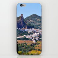 spanish iPhone & iPod Skins featuring Spanish Summer by Tamsin Lucie