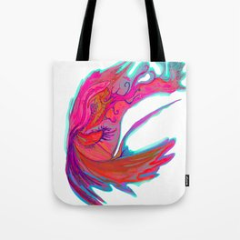 Bright abstract butterfly Tote Bag