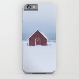 Snowfall - Landscape and Nature Photography iPhone Case