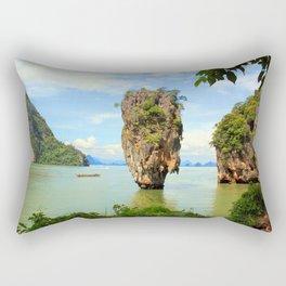 007 island Rectangular Pillow