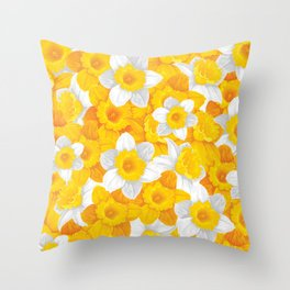 Spring in the air #13 Throw Pillow