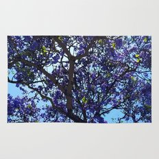 Jacaranda in Spring Rug