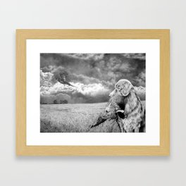 """Making the Limit"" - Graphite on Paper - 2012 Framed Art Print"