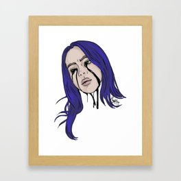 Billie Eilish Framed Art Print