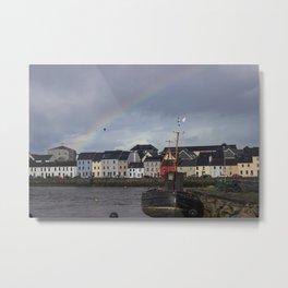 Galway Rainbow Metal Print