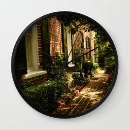 Beautiful Charleston Alley Wall Clock