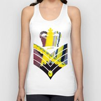 general Tank Tops featuring Fixie General by Pedlin