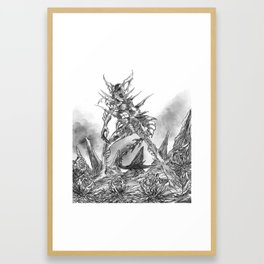 Mother Lover Framed Art Print