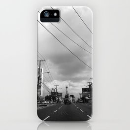 Driving in Panama City iPhone Case