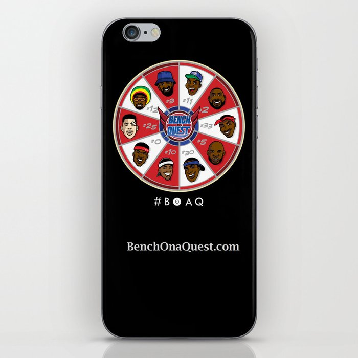 B*O*A*Q: Bench On a QUEST iPhone Skin