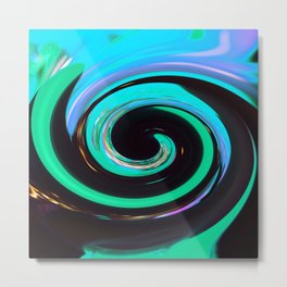 Swirling colors 02 Metal Print