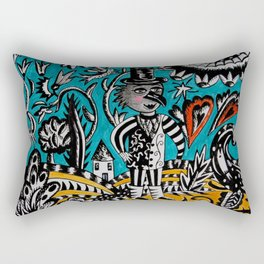 Fantastical Journey Rectangular Pillow
