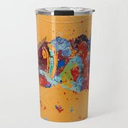 Rooted 3 by Nadia J Art Travel Mug