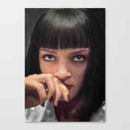 Mia Wallace Canvas Print