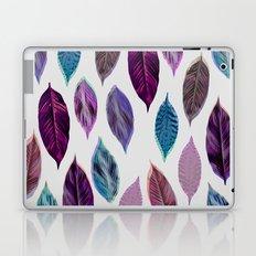Pink Leaves 2 Laptop & iPad Skin