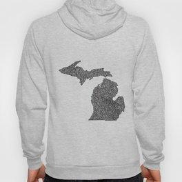 Michigan Map Hoody