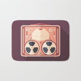 Portable Reel Tape Recorder Bath Mat