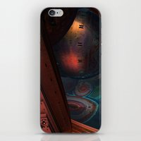 sci fi iPhone & iPod Skins featuring Sci-Fi by Lyle Hatch