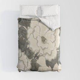 Japanese Kanagawa style painting (Kanagawa oki nami) Comforters