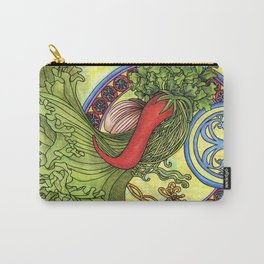 Art nouveau. Spices and vegetables Carry-All Pouch