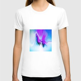 Abstract Moving Butterfly Design T-shirt