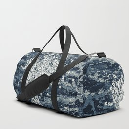 Silver sequins Duffle Bag