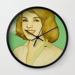 Marilyn (trace drawing) Wall Clock